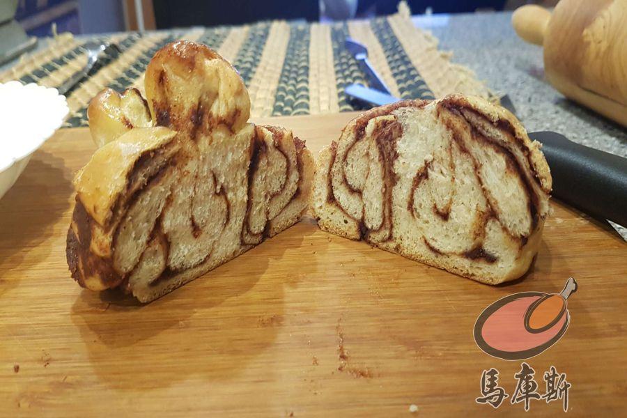 我做烘焙 - 古早糖肉桂羊圈圈卷包